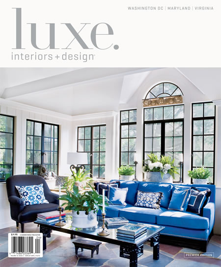 I Was Thrilled To See That One Of My Images Selected For The Cover Premier Issue New DC Edition Luxe Magazine Kelley Proxmire